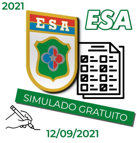 SIMULADO 3º ESA 2021